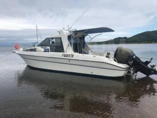 Аренда катера, прогулки, рыбалка, отдых, морское такси. 10 человек, 65км/ч