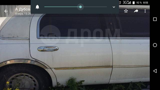 Дверь задняя правая и от Lincoln Town Car 2000г