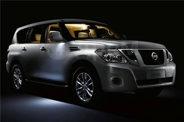 Стальная защита картера Nissan Patrol и Infiniti QX56 с 2010г