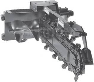 Траншеекопатель XR25-48 x 8 ABF навесного типа.