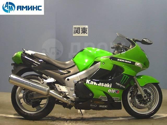 Kawasaki ZZR 1200. 1 200куб. см., исправен, птс, без пробега. Под заказ