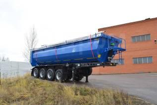 Тонар 952345. Самосвальный полуприцеп-зерновоз (облегченный) Тонар-952345 34м3, 28 550кг.