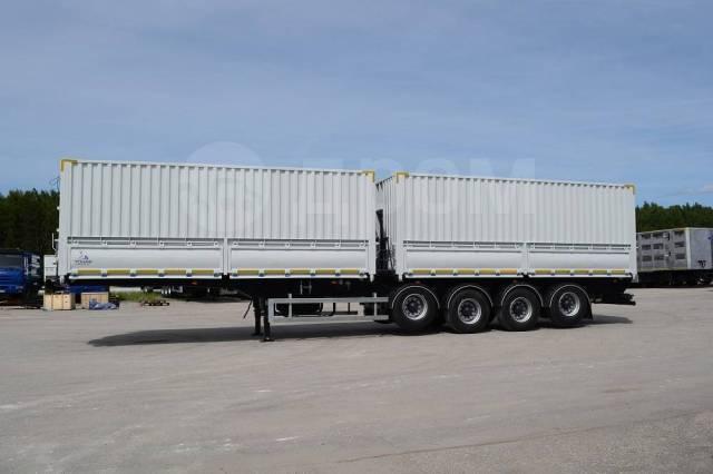 Тонар 9585. Самосвальный полуприцеп-семечковоз 2-х секционный Тонар-9585. 68 куб. м, 23 000кг. Под заказ