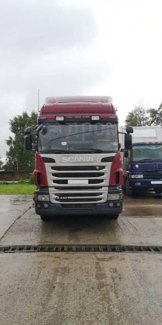 Scania G440. Продаётся тягач с прицепом , 13 000куб. см., 18 600кг., 4x2