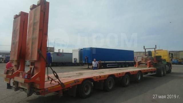 Спецприцеп. SpecPricep 994274 Низкорамный облегченный трал, 4 оси ROR, 35 тонн НДС, 35 000кг.