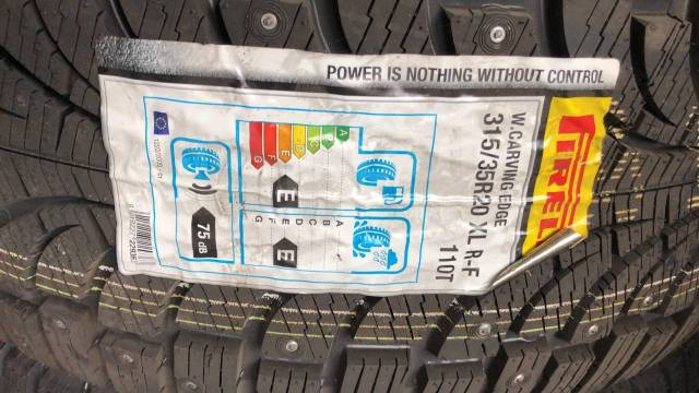 Pirelli Winter Carving Edge, 315/35/20, 315/35r20