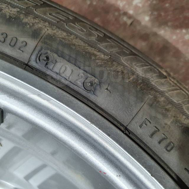 Bridgestone Turanza ER300. летние, 2012 год, б/у, износ 10%