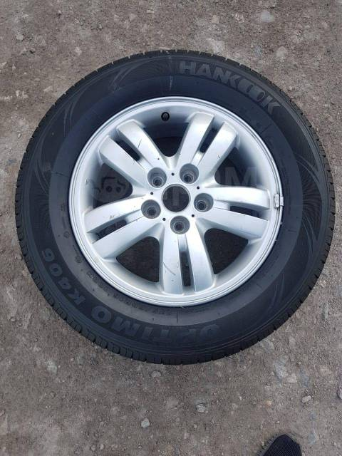Запасное колесо Hyundai Tucson.