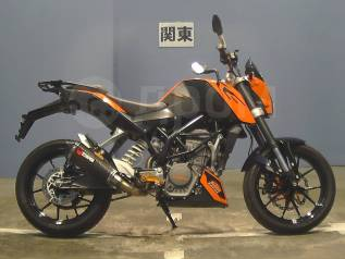 KTM 125 Duke, 2011