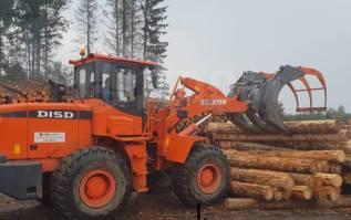 Захват для леса на фронтальный погрузчик до 3 тн