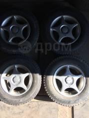 """Продам зимние колёса в сборе R-13 4x100;4x114.3 Groove. 5.0x13"""" 4x100.00, 4x114.30 ET35 ЦО 73,1мм."""