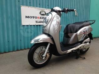 Honda Scoopy. 110куб. см., исправен, птс, без пробега