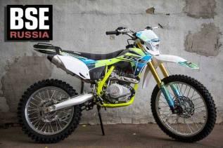 Кроссовый мотоцикл BSE J2-250e Crazy Lemon 19/16, 2020