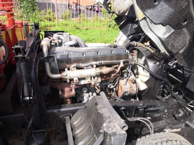 Nissan Diesel. Condor манипулятор 2001, 9 200куб. см., 5 000кг., 4x2