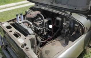 Продам двигатель на уаз есть все коробка раздатка мосты и тд