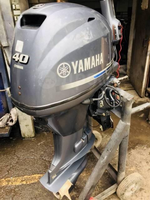 Yamaha. 40,00л.с., 4-тактный, бензиновый, нога L (508 мм), 2013 год