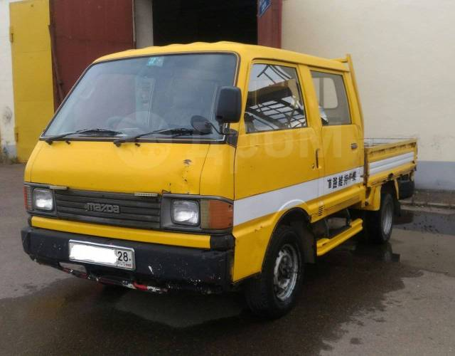 Продается грузовик Mazda Bongo 4wd - Mazda Bongo Brawny ...