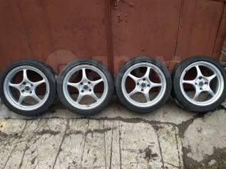 "Enkei racing RP01 Bridgestone Potenza GIII. 7.0x17"" 4x114.30 ET38 ЦО 73,0мм."