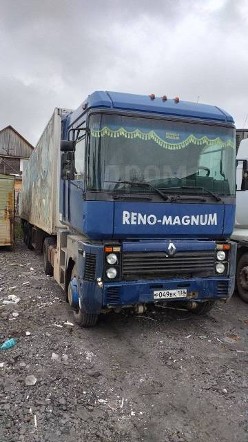 Renault Magnum. Renault magnum. Обмен на неисправный или битый автомобиль., 12 000куб. см., 20 000кг., 4x2