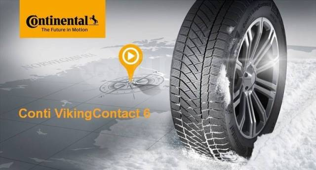 Continental ContiVikingContact 6, T 195/65R15