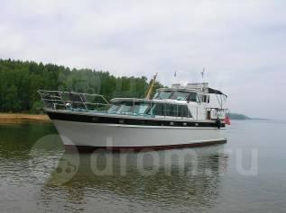 Продается стальная моторная яхта Exspress Cruizer в Иркутске. 1991 год, длина 14,00м., двигатель стационарный, 240,00л.с., дизель