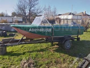 Лодка Ока-4 (40л. с)
