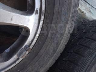 Комплект колес с зимней резиной.