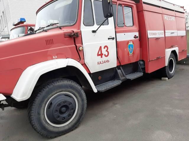 Пожарная машина ЗИЛ. 4 750куб. см.