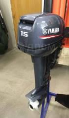 Yamaha. 15,00л.с., 2-тактный, бензиновый, нога S (381 мм), 2017 год
