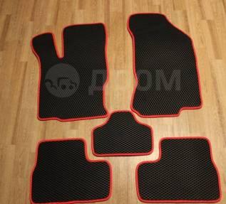 Eva-коврики(Эво коврики) 2190 Лада Гранта комплект (черно-красные)