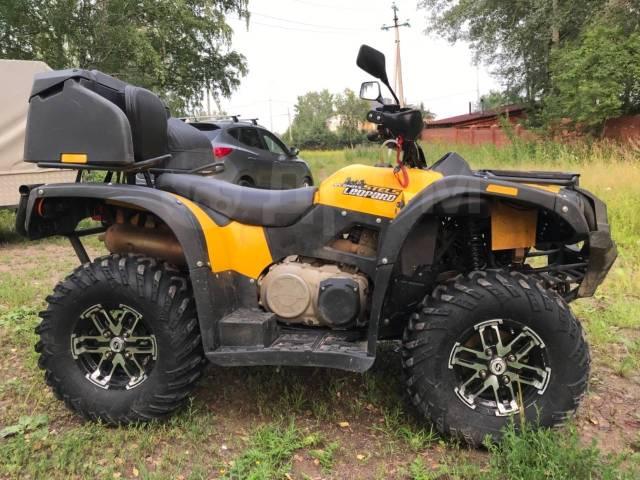 Stels ATV 650YS Leopard. исправен, есть псм\птс, с пробегом