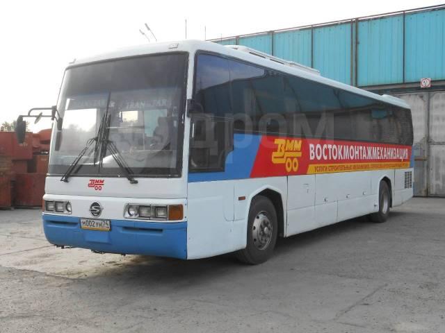 Ssangyong Transtar. Автобус Ssang Yong Transstar SB85, 1998г, 45 мест