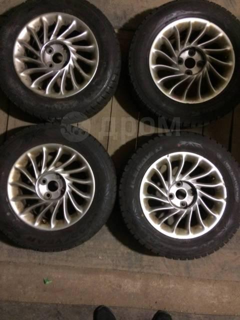 """Продам зимние колеса всборе R-15 4x100;195/65 R15 Goodyear. 6.0x15"""" 4x100.00 ET39 ЦО 54,1мм."""
