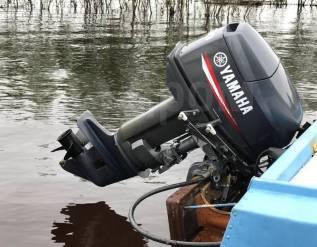 Yamaha. 30,00л.с., 2-тактный, бензиновый, нога S (381 мм), 2017 год