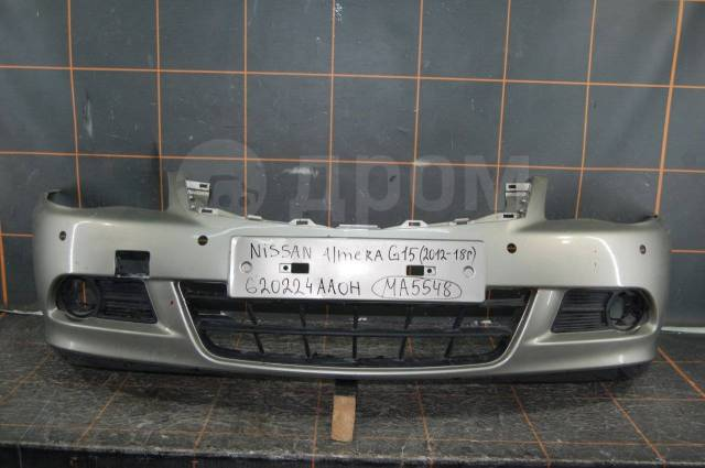 Бампер. Nissan Almera, G15, G15RA K4M