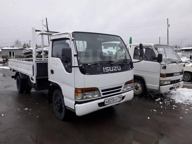 Isuzu Elf. Продам грузовик с манипулятором, 4 300куб. см., 2 000кг., 4x2