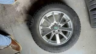 """Продам литые колеса R15 с шипованной Toyo 195/65. 6.0x15"""" 5x100.00 ET40 ЦО 57,1мм."""