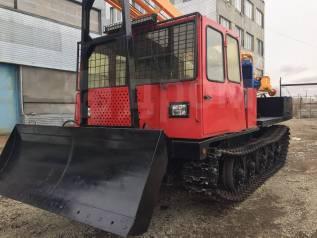 Бурспецтехника УРБ-2А2. Трелевочный трактор ТТ-4 с УРБ 2А2