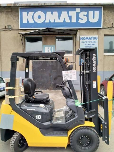 Komatsu FG18HT-20. Продается вилочный автопогрузчик Komatsu FG18T-21, 1 750кг., Бензиновый