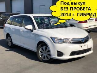 Аренда авто под выкуп Toyota Fielder 2014 (возможно под такси)