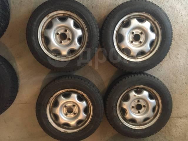 """Продам зимние колёса 165/70/R14, 4x100. 5.0x14"""" 4x100.00 ЦО 56,1мм."""
