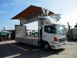 Hino Ranger. Фургон бабочка с аппарелью 2004 год, 6 400куб. см., 5 000кг., 4x2. Под заказ