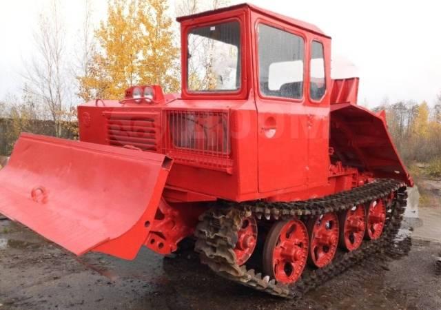 ОТЗ ТДТ-55. Трелёвочный трактор ТДТ 55, 95 л.с.