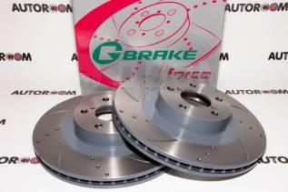 Диски тормозные перфорированные G-brake GFR-02828 (Передние)