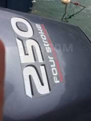 Продам лодочный мотор Yamaha F250AET 4 тактный на запчасти в разбор
