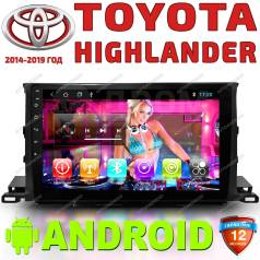 Автомагнитола Toyota Highlander 2014-2020. Android. Гарантия