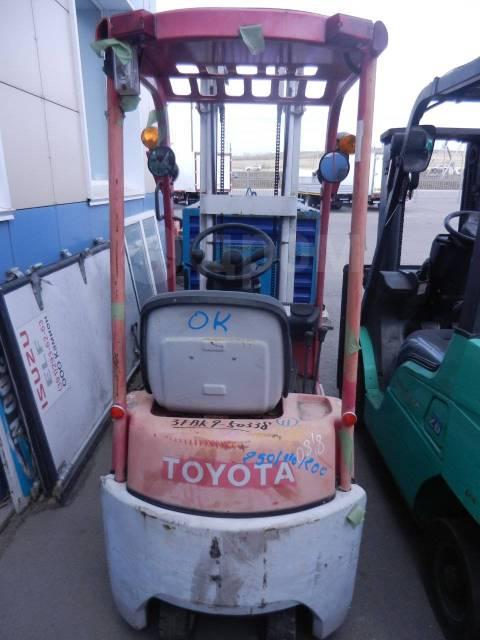 Toyota. Электрический вилочный погрузчик 3FBK9, 900кг., Электрический