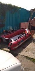 Продам лодку с мотором ямаха15