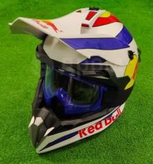 Мото шлем кросс/эндуро Подростковый Размер M