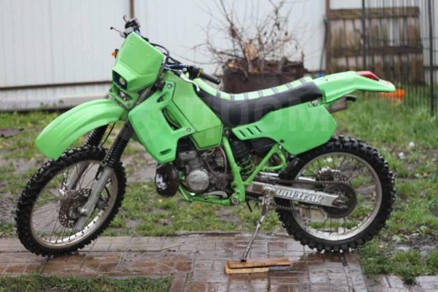 Kawasaki KDX 200SR. 200куб. см., исправен, птс, с пробегом
